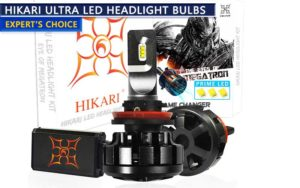 HIKARI LED headlight conversion kit review
