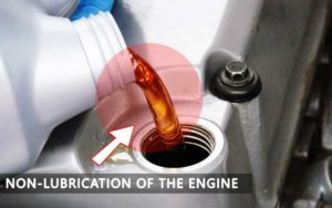 Non-Lubrication of the Engine