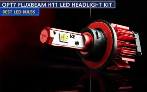 OPT7 FluxBeam H11 LED Headlight kit review