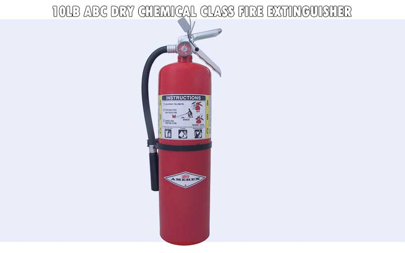 10lb ABC Dry Chemical Class Fire Extinguisher review