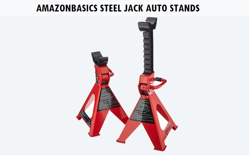 AmazonBasics Steel Jack Auto Stands Review