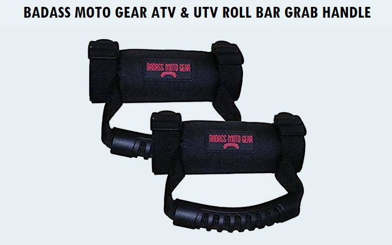Badass Moto Gear ATV & UTV Roll Bar Grab Handle Review