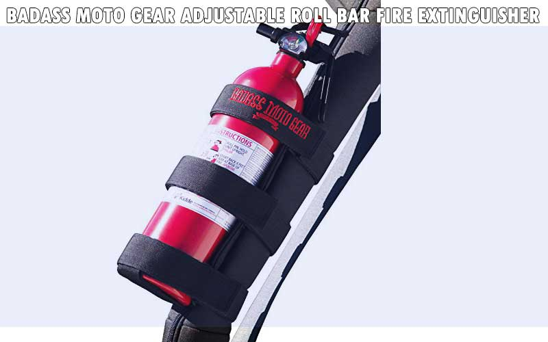 Badass Moto Gear Adjustable Roll Bar Fire Extinguisher review