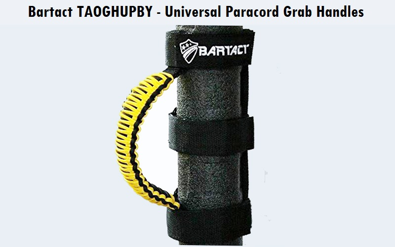 Bartact TAOGHUPBY - Universal Paracord Grab Handles Review