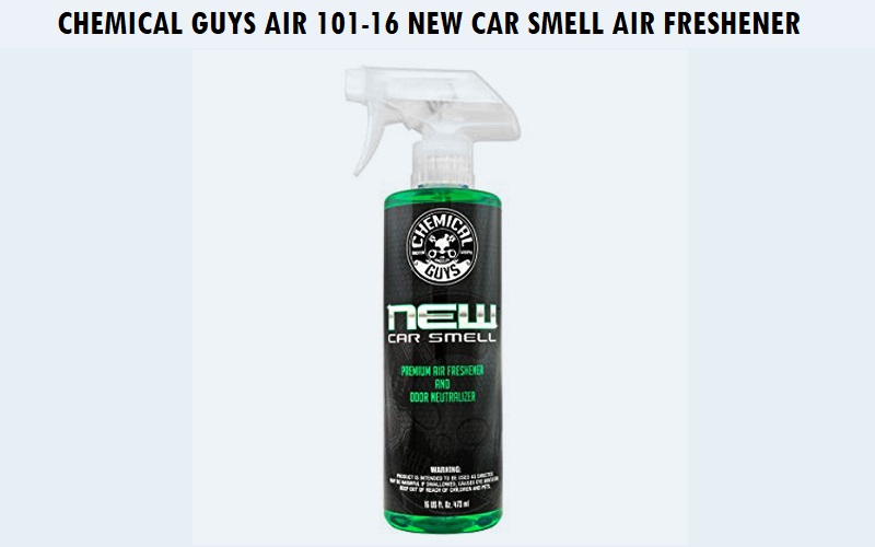 Chemical Guys AIR_101_16 New Car Smell Premium Air Freshener Review
