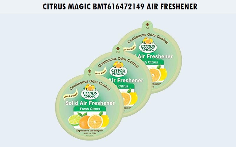 Citrus magic BMT616472149 air freshener fresh citrus Review