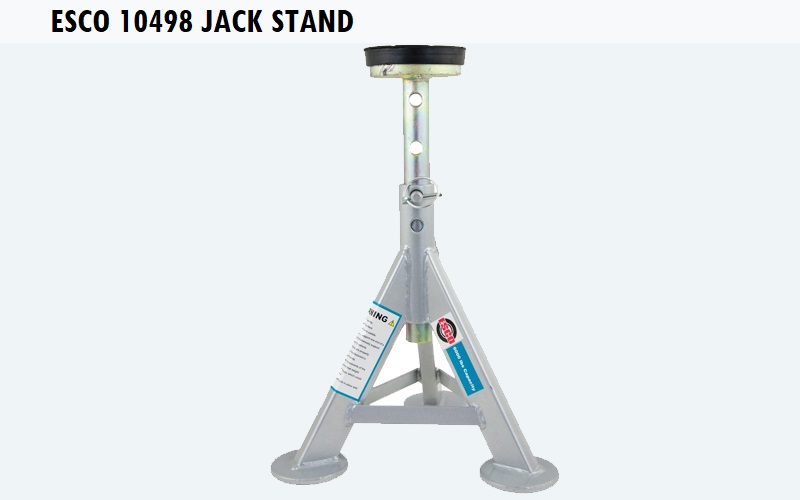 ESCO 10498 Jack Stand Review