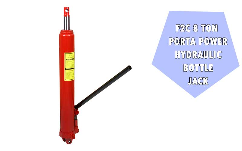 F2C 8 Ton Porta Power Hydraulic Bottle Jack review