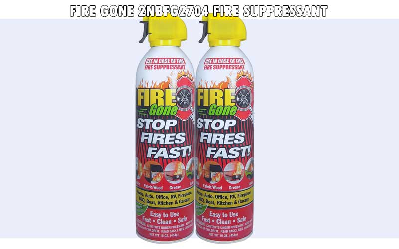 Fire Gone 2NBFG2704 Fire Suppressant review