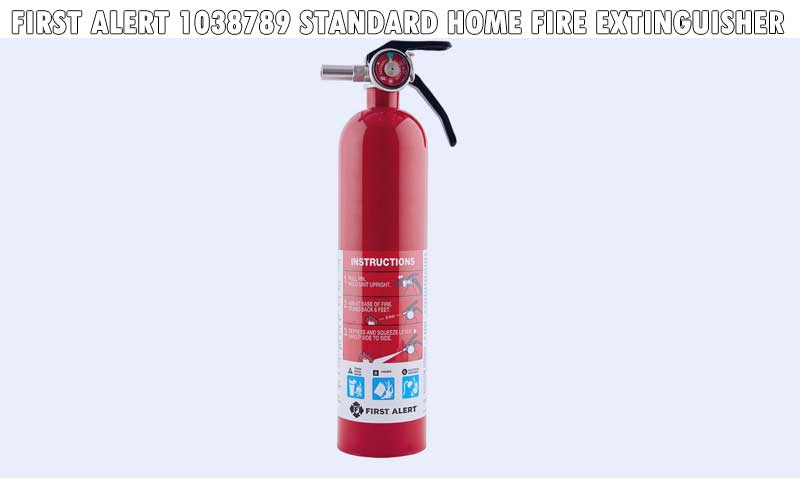 First Alert 1038789 Standard Home Fire Extinguisher review