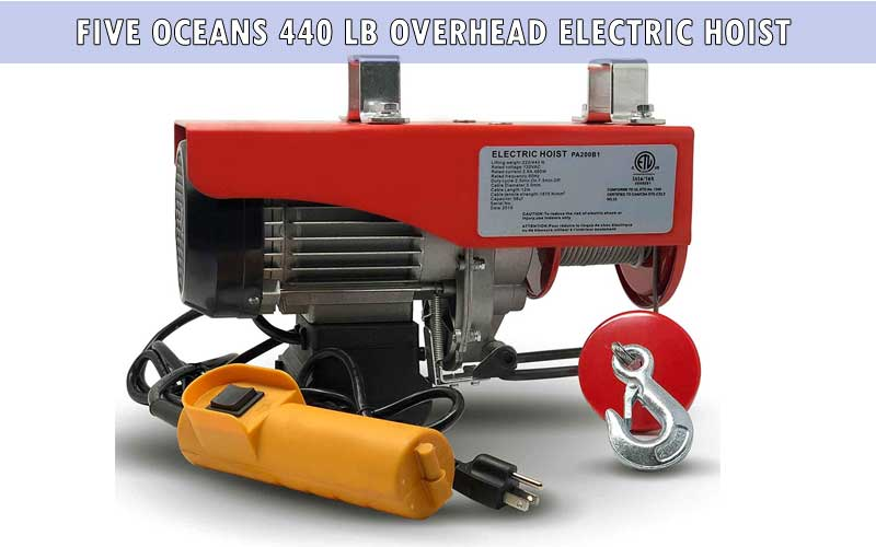 Five Oceans 440 LB Overhead Electric Hoist review