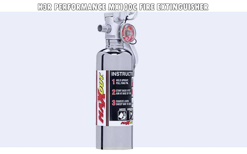 H3R Performance MX100C Fire Extinguisher review