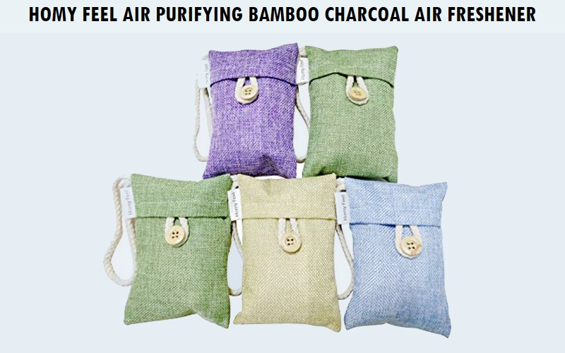 Homy feel air purifying bamboo charcoal air freshener Review