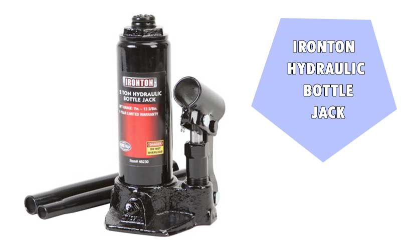 Ironton Hydraulic Bottle Jack review
