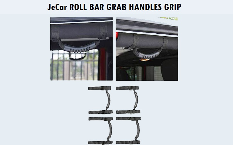 JeCar Roll Bar Grab Handles Grip Review