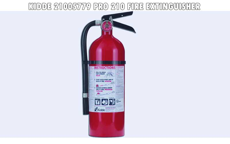 Kidde 21005779 Pro 210 Fire Extinguisher review
