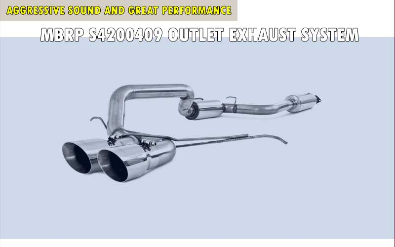 MBRP S4200409 Outlet Exhaust System review