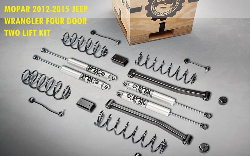 Mopar 2012-2015 Jeep Wrangler Four Door Two Lift Kit Review