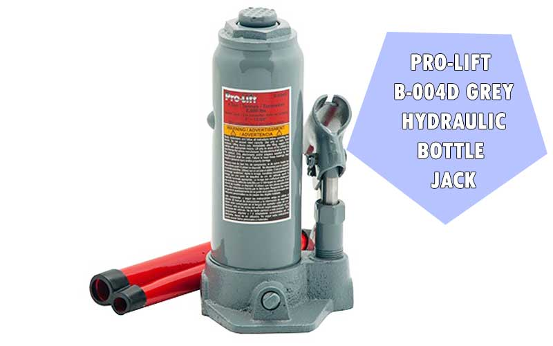 Pro-Lift B-004D Grey Hydraulic Bottle Jack review