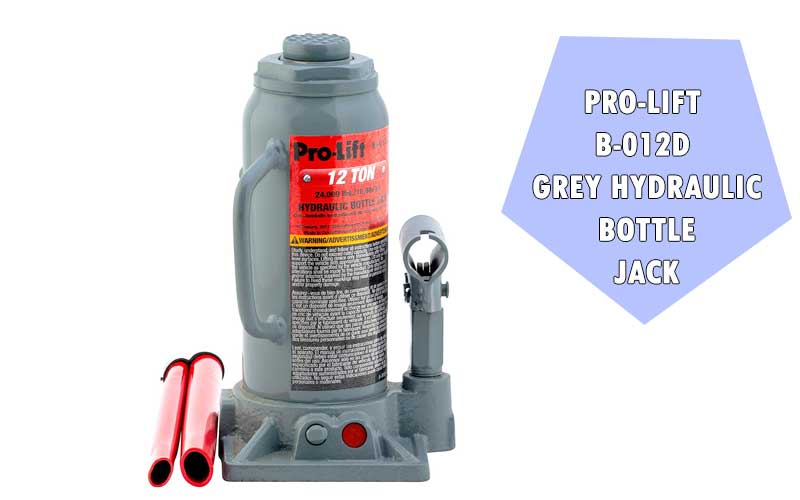 Pro-Lift B-012D Grey Hydraulic Bottle Jack review