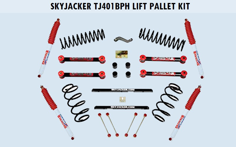 Skyjacker (TJ401BPH) Lift Pallet Kit Review