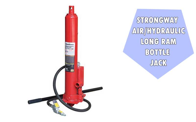 Strongway Air/Hydraulic Long Ram Jack review