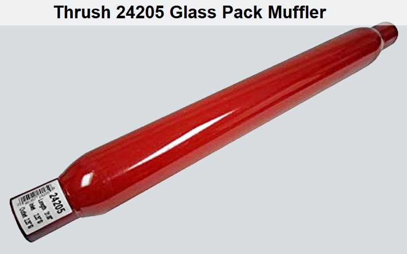 Thrush 24205 Glass Pack Muffler Review