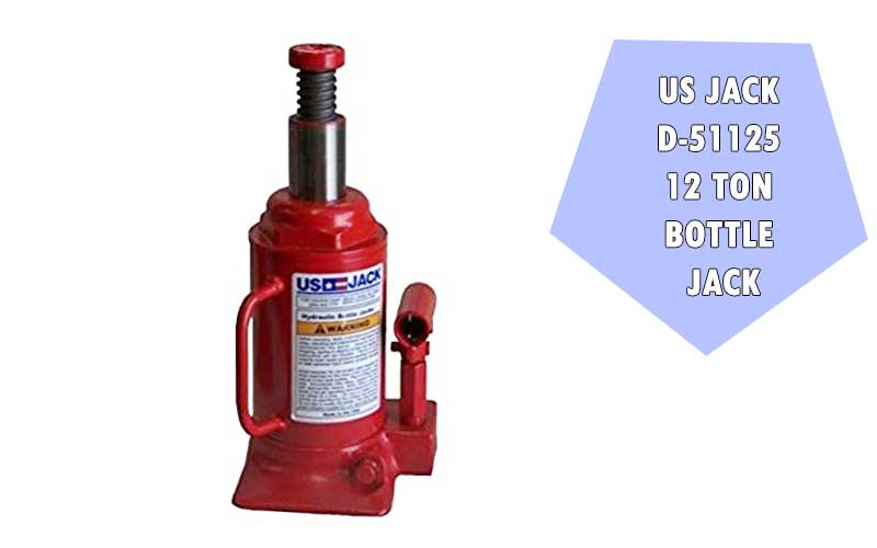 US JACK D-51125 12 Ton Bottle Jack review