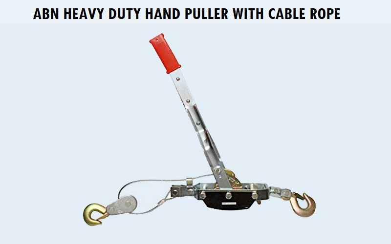 ABN Heavy Duty Hand Puller With Cable rope Review