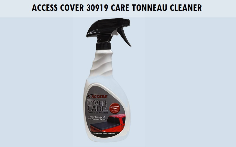 Access Cover 30919 Access Cover Care Tonneau Cleaner Review