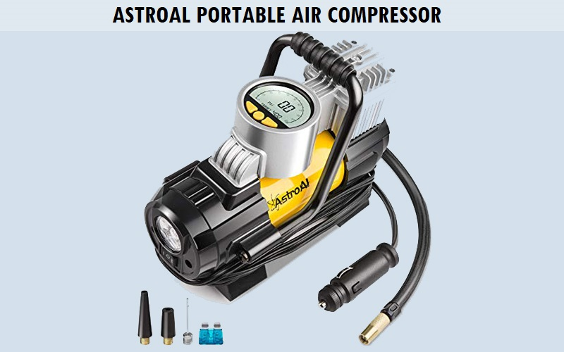 AstroAI Portable Air Compressor Review