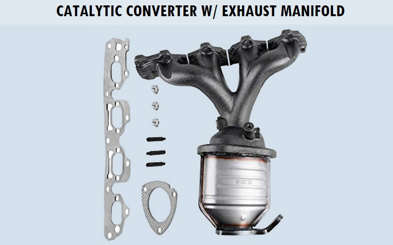 Catalytic Converter w Exhaust Manifold Review