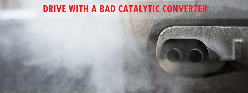 Driving With a Bad Catalytic Converter  – How Long Can You Drive