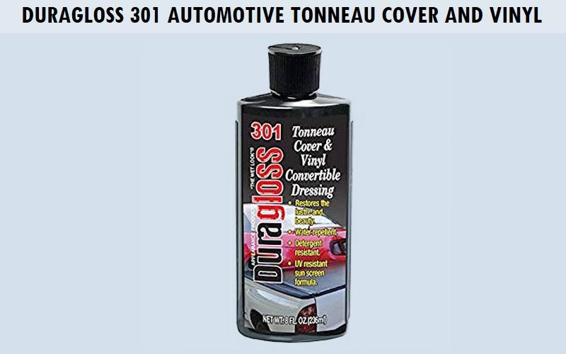 Duragloss 301 Automotive Tonneau Cover and Vinyl Review