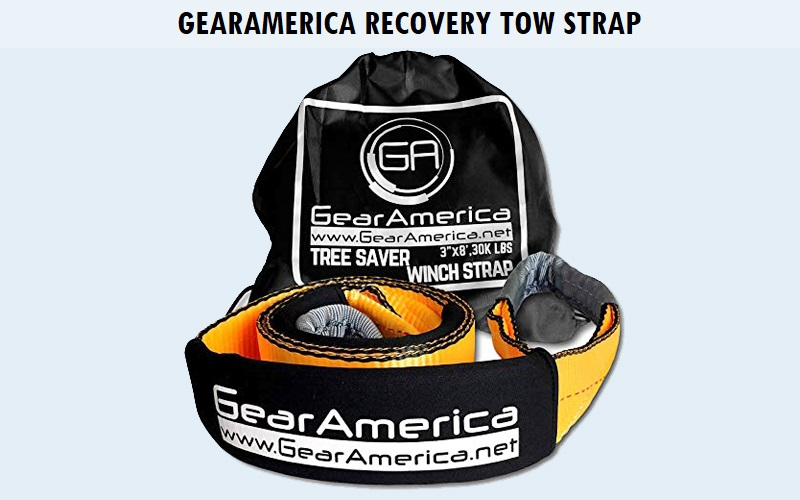 GearAmerica Recovery Tow Strap Review