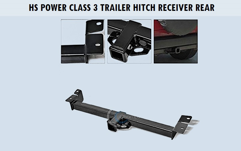 HS Power Class 3 Trailer Hitch Receiver Rear Review