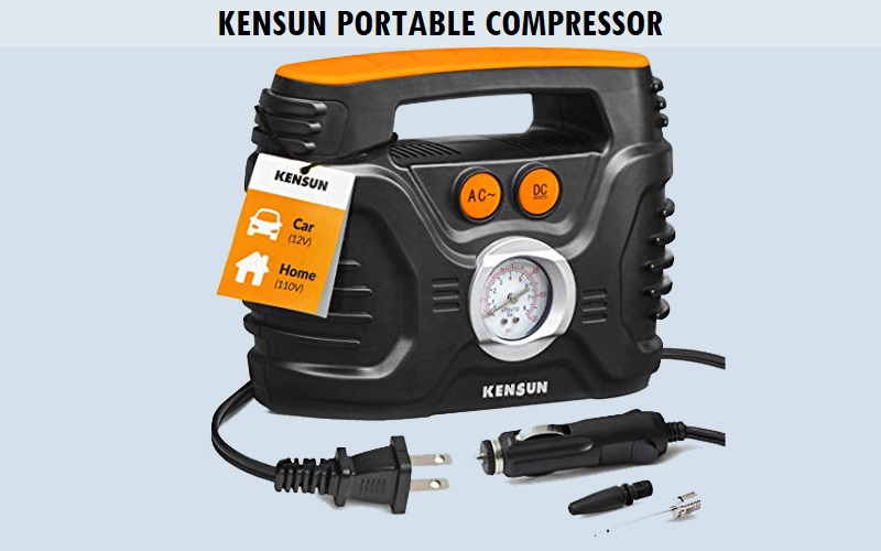 Kensun Portable Compressor Review