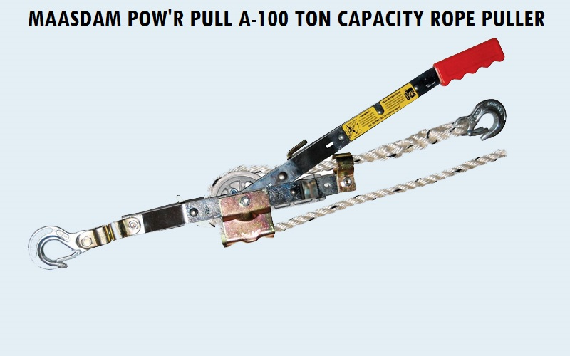 Maasdam Pow'R Pull A-100 ton Capacity Rope Puller Review