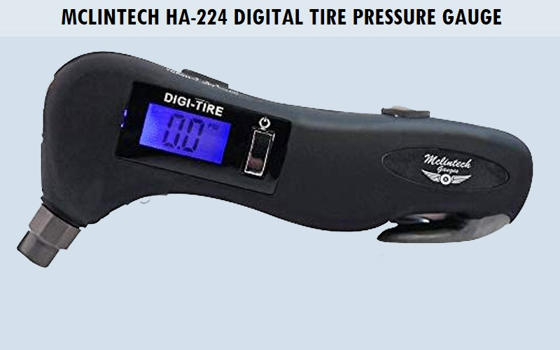 Mclintech HA-224 Digital Tire Pressure Gauge Review