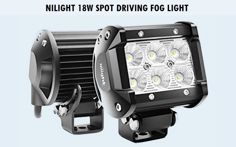 Nilight 18W Spot Driving Fog Light Review