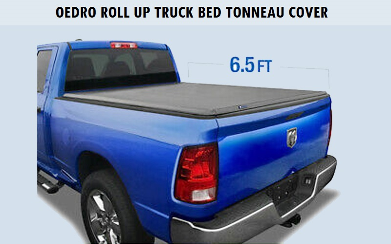 OEdRo Roll Up Truck Bed Tonneau Cover Review