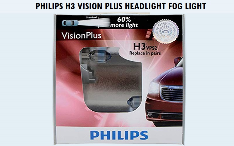 Philips H3 VisionPlus Headlight Fog Light Review