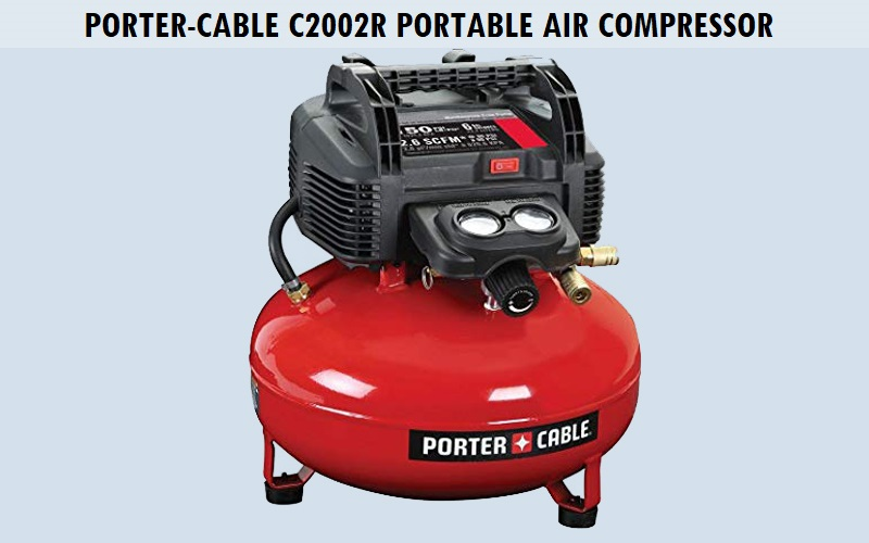Porter-Cable C2002R Portable Air Compressor Review