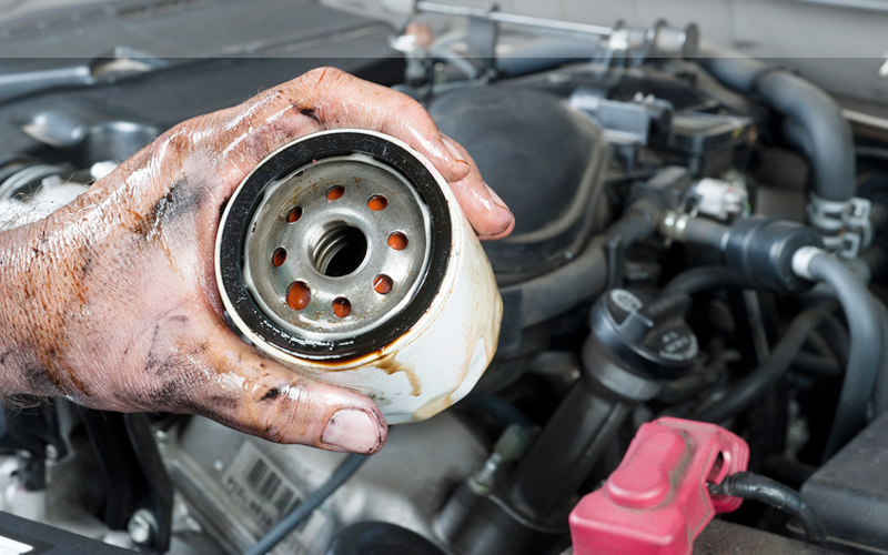 Replace The Gasket and Filter