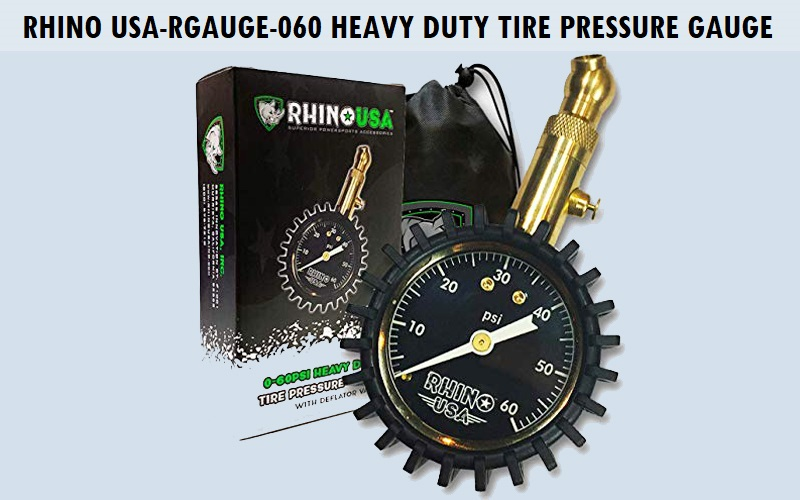 Rhino USA-RGAUGE-060 Heavy Duty Tire Pressure Gauge Review