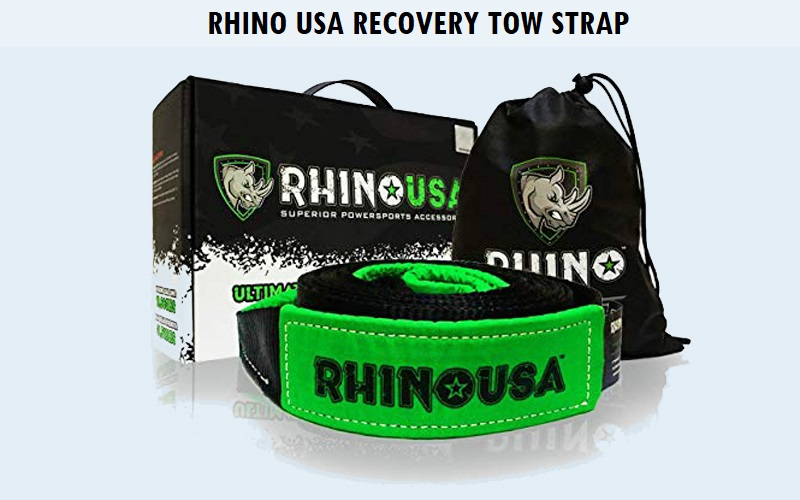 Rhino USA Recovery Tow Strap Review