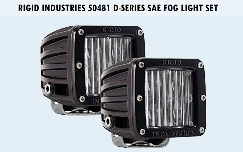 Rigid Industries 50481 D-Series SAE Fog Light Set Review
