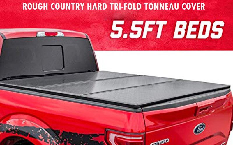 Rough Country Hard Tri-Fold tonneau cover Review