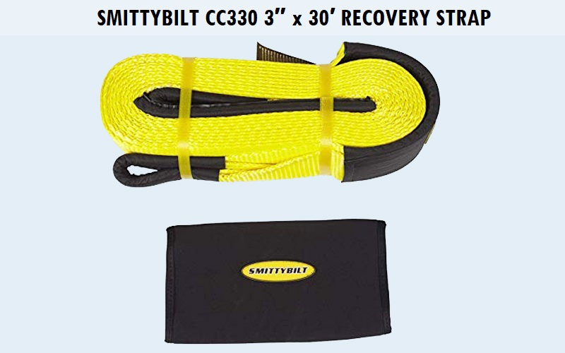 Smittybilt CC330 3″ x 30′ Recovery Strap Review