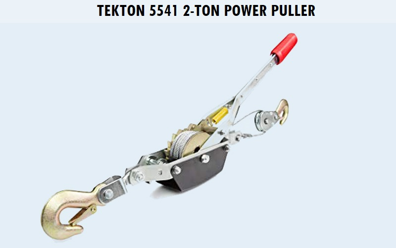 TEKTON 5541 2-Ton Power Puller Review